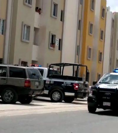INTENTAN EJECUTAR A UN HOMBRE EN LA REGIÓN 110: Disparan contra conductor de una camioneta, pero logra escabullirse en Cancún