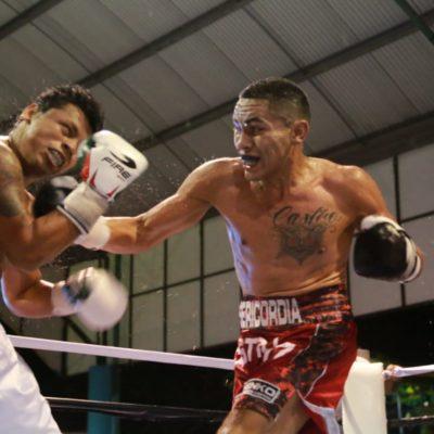 Se realiza con éxito la función de box 'Mayan Fight Night' en Tulum