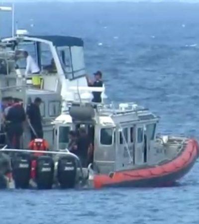 VACACIONA TITULAR DE LA SEDENA CON SU FAMILIA EN COZUMEL: Usan civiles embarcación de la Semar para actividades recreativas
