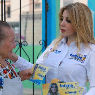 Para Fátima Garnica, los jóvenes serán su prioridad de llegar al Congreso