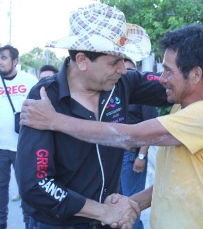 """Pide Greg Sánchez 'guillotina"""" a servidores públicos que no cumplan promesas de campaña"""