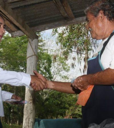 Agua potable, apoyo al campo y adultos mayores serán prioridades en Laguna Guerrero: Claudette González