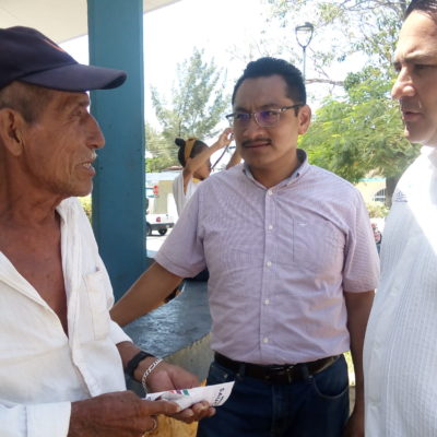 Alcaldesa de Solidaridad condiciona pago de Fortaseg a policías a cambio de voto para su hermano el 2 de junio, acusa Ismael Sauceda