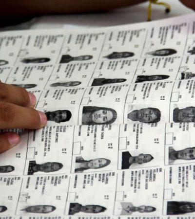 CRECE 3.15% LISTA NOMINAL EN QR: Un millón 247 mil 995 ciudadanos podrán votar el 2 de junio