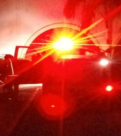 Surge incendio en hotel de Chetumal