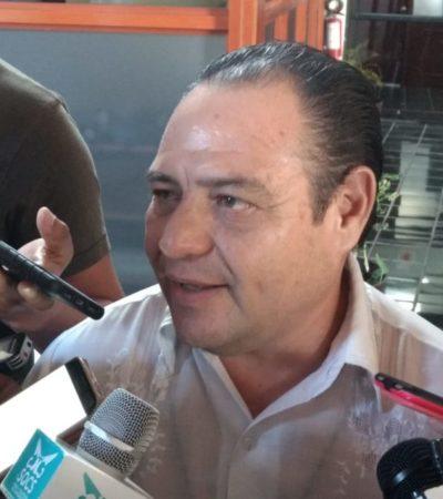 A punto de iniciar campaña de reelección, Jesús Zetina se pronuncia a favor de taxistas de Cozumel y promete sacar a concesionarios con placas federales de la isla