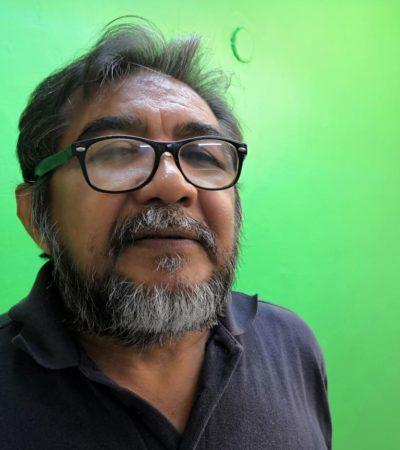 Intentó Carlos Joaquín 'chamaquear' a docentes, acusa maestro