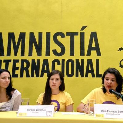 ALERTA AI: Se cometen hasta diez feminicidios al día en México; lanzan campaña 'Juntas hasta la vida'