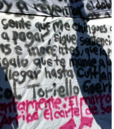 LANZA CÁRTEL NUEVA AMENAZA A AMLO: Advierte 'El Marro' al Presidente que continuará la violencia en Guanajuato si no retira a marinos y militares