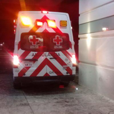 DOS BALEADOS EN CANCÚN: Disparan contra un hombre en la Región 234 y contra otro en la 254