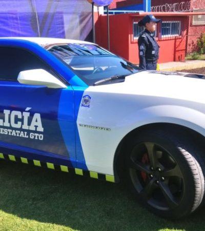 Asignan autos de lujo a fuerza policial en Guanajuato; seis Camaro, un Corvette, un Mustang y dos Cadillac