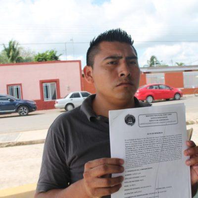 Denuncia ciudadano que la Fiscalía se niega a actuar contra delincuentes armados en Lázaro Cárdenas