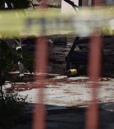 Revela Fiscalía que venganza por venta de drogas es la principal línea de investigación en masacre de Minatitlán
