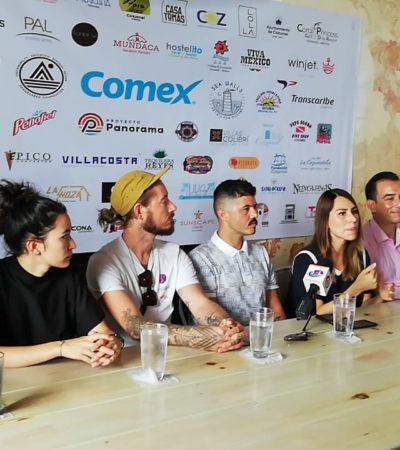 Con murales, buscan artistas elevar la conciencia ambiental en Cozumel