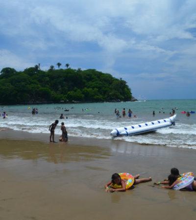 MORENAS MORDELONAS: Muerden serpientes de agua a quince vacacionistas en playa de Nayarit