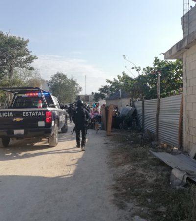Invasores interponen queja ante la Cdhqroo contra policías estatales y ministeriales que ejercieron violencia cuando intentaban desalojarlos en Playa del Carmen