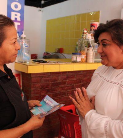 Alfredo V. Bonfil ya no puede continuar sufriendo el abandono de los gobiernos municipales, advierte Eugenia Solís