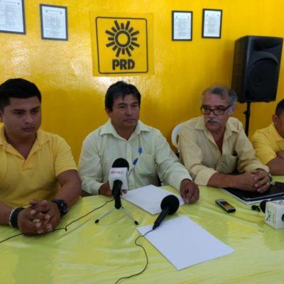 """""""El PRD no se lava las manos de la actuación del gobierno del estado, pero tampoco tiene participación"""", admite Rafael Esquivel"""