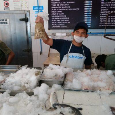 Reportan pescaderías de Chetumal ventas regulares en la quinta semana de Cuaresma