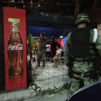 RIÑA DE PANDILLEROS Y LAVADERO RAFAGUEADO: Tres heridos de bala en dos diferentes incidentes la noche del lunes en Playa del Carmen