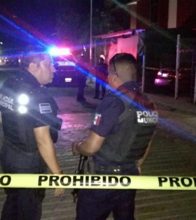 Hieren de bala a automovilista en Puerto Aventuras