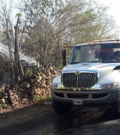 Incendios en José María Morelos son por desobediencia de ejidatarios, aseguran autoridades del municipio