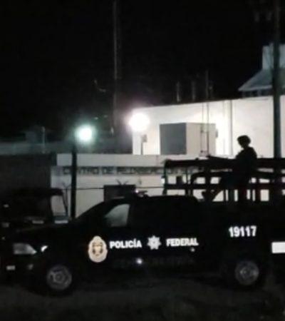 Un día después de riña entre internos, arranca operativo de revisión en cárcel de Cozumel