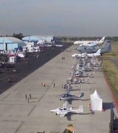 Alistan Plan Maestro del Aeropuerto Internacional de Santa Lucía; estará listo en uno o dos meses, según SCT
