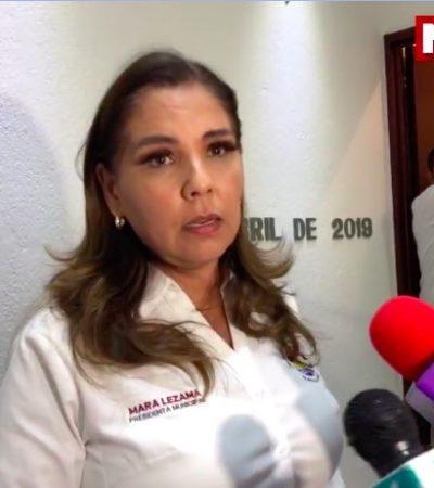 """""""ESTAMOS TRABAJANDO FUERTEMENTE EN LO QUE NOS COMPETE"""": Dice Mara Lezama que confía en que se llegue hasta las últimas consecuencias en el ataque a rentadora de autos de lujo, que a ellos les toca la prevención"""