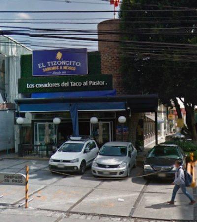 ESCALA INTENSIDAD DE LA VIOLENCIA: Asaltan con metralletas una taquería en CDMX