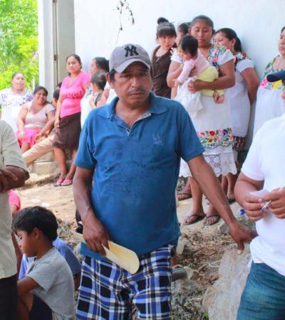 Se compromete Pedro Pérez a gestionar ampliación de presupuestos para caminos saca cosechas