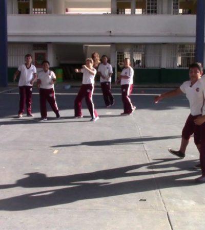 Entregan 2 mil 184 becas federales a estudiantes en Cozumel
