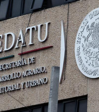 Se dobla FGR ante prácticas corruptas en Sedesol y Sedatu; no impugnará fallos a favor de acusados