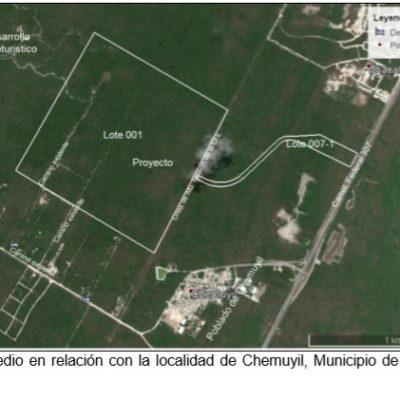 Autoriza Semarnat desarrollo turístico en Chemuyil