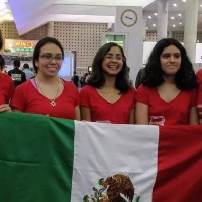 Ponen a México en el 'top ten' de la Olimpiada Europea Femenil de Matemáticas