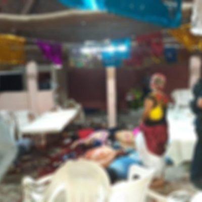 FOTOS | MASACRE EN SUR DE VERACRUZ: Ataca comando armado en un salón de fiestas; suman 14 muertos