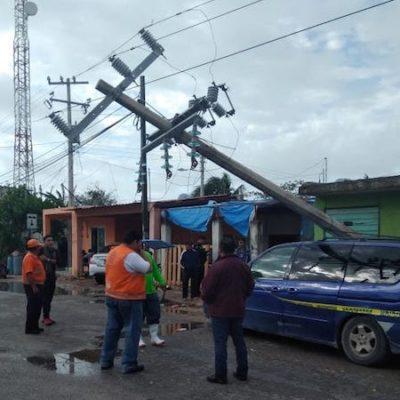 Alertan por riesgo de turbonada y caída de granizo en la Península de Yucatán
