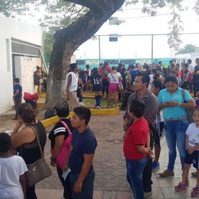 Inconforma a padres el cobro de uniformes en el Instituto municipal del Deporte en Solidaridad
