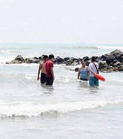 Reportan nueve personas ahogadas en playas veracruzanas durante periodo de Semana Santa