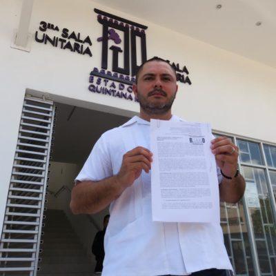 VA REGIDOR CONTRA MARA Y EL CABILDO: Interpone Issac Janix formal impugnación contra la aprobación de la Policía Auxiliar en Cancún