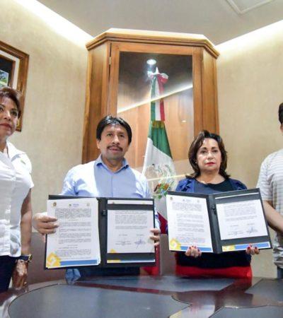Firman convenio Ayuntamiento de Tulum y Secretaría del Trabajo para protección de trabajadores