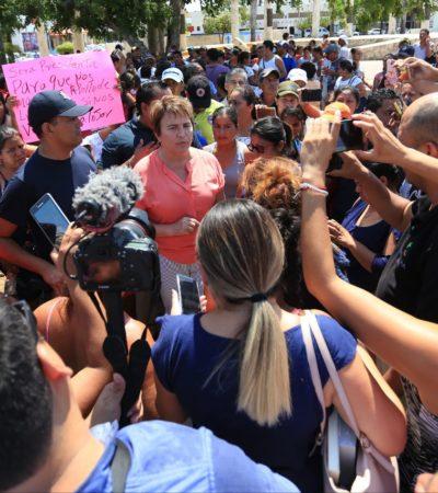 Instala gobierno de Solidaridad 'mesa de diálogo' para atender a vecinos de la 'Nueva Esperanza'