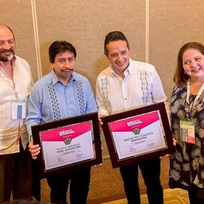 Tulum recibe reconocimiento de la 'Mejor Playa' a nivel nacional durante el Tianguis Turístico en Acapulco