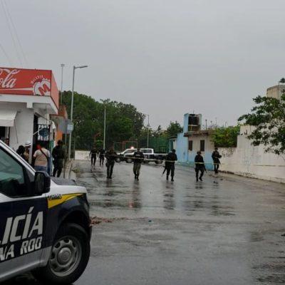 RECUENTO | EJECUCIÓN, PERSECUCIÓN Y ENFRENTAMIENTO: Vinculan asesinato de comandante con aparición de narcomanta; detienen a sicarios en la SM 248