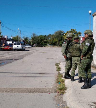 SEGUIMIENTO | Mujer baleada en la SM 253 de Cancún cuando iba con su hijo tenía en su domicilio un arma AR-15 y porciones de marihuana