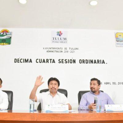 Aprueba Cabildo ampliación de recursos económicos para el DIF Tulum