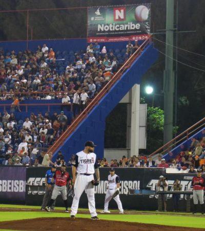 GRAN NOCHE DE BEISBOL EN EL 'BETO ÁVILA': Sufre Tigres descalabro en el 'Opening Day' como local