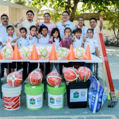 Inicia el Programa 'En tu Escuela Contigo Hacemos Más' en Tulum