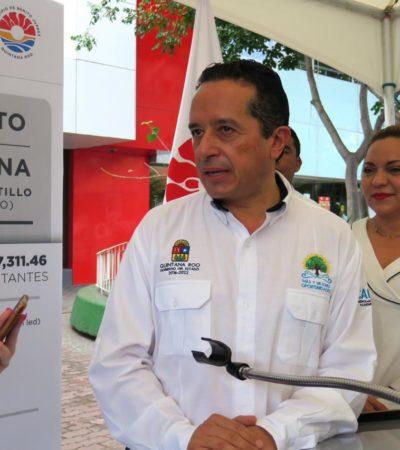 """""""NO HAY VARITA MÁGICA"""" PARA RESOLVER TEMAS DE SEGURIDAD: Dice Gobernador que Cancún ya tiene mil cámaras funcionando y se empieza a tener infraestructura contra delincuencia"""
