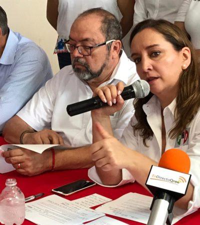 """""""NO NOS DISTRAEMOS, NOS PREPARAMOS"""": Tras la aplastante derrota del 2018, quiere PRI convencer de que son la mejor opción para Quintana Roo, dice Claudia Ruiz Massieu"""